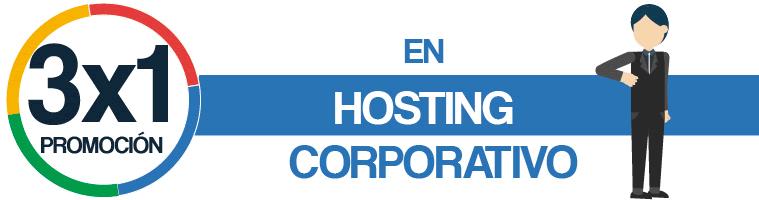 hosting peru promocion 3x1 en host corporativo