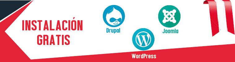 Hosting instalaciones gratis wordpress
