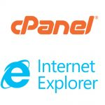 Acceso a cpanel en navegador explorer