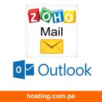 Configuracion de zoho mail a outlook de escritorio