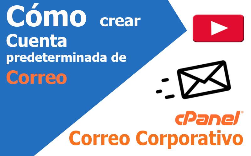 correo electronico como crear cuenta predeterminada