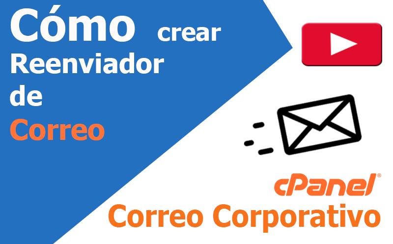 correo electronico cpanel reenviar dominio