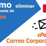 Cómo eliminar una cuenta de correo electrónico en cPanel