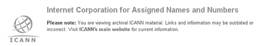 hosting-icann-internet-corporation