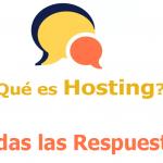 Qué es Hosting ?