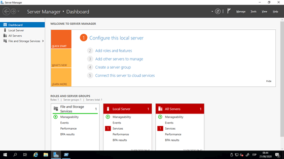 VPS PERU - server windows 2019