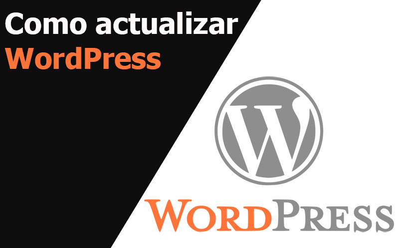 word press como actualizar