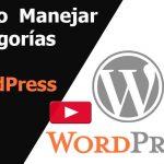 Cómo administrar categorías en WordPress