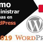 Cómo administrar páginas en WordPress