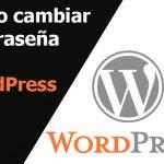 Cómo cambiar su contraseña en WordPress