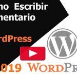 Cómo escribir un comentario en WordPress