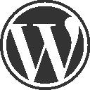 logo wordpress, alojamiento web peru